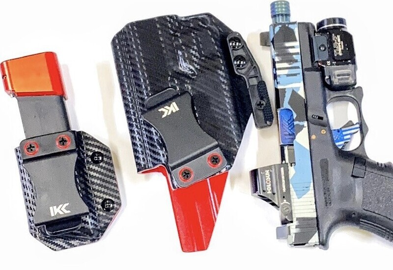 IWB Custom 2Tone Light Bearing Kydex Holster