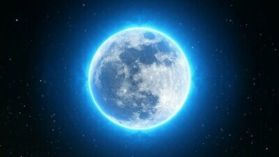 Full Blue Moon, Wiccan Spell, $39