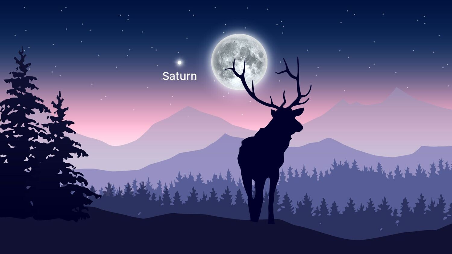 Get Ready For July's Full Buck Moon