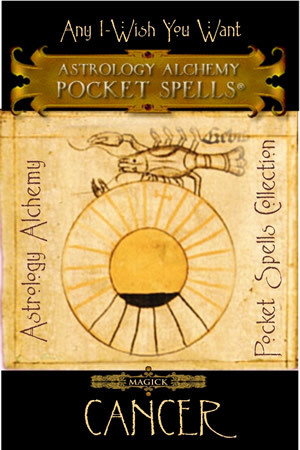 Cancer Astrology Alchemy Spell, $37