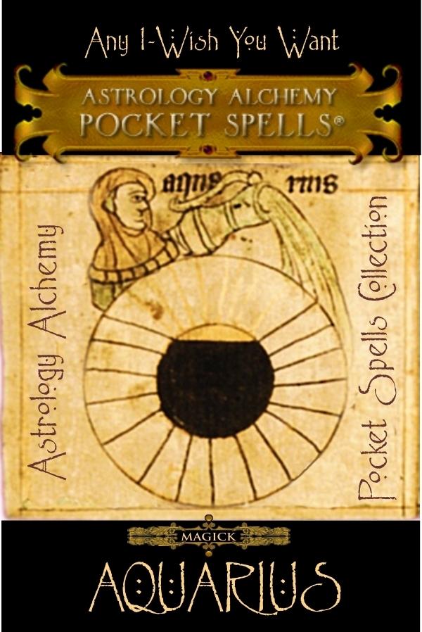 Aquarius Astrology Alchemy Spell, $37