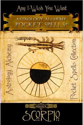 Scorpio Astrology Alchemy Spell, $37