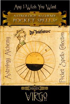 Virgo Astrology Alchemy Spell, $37