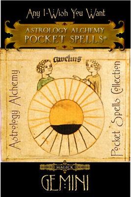Gemini Astrology Alchemy Spell, $37