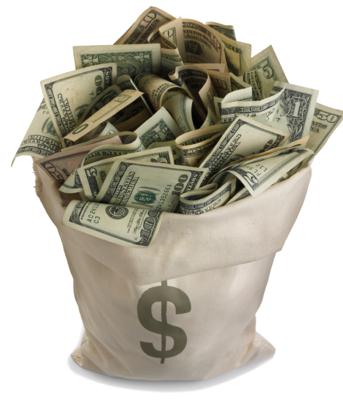Scratch-Off Lottery Money Spell $39