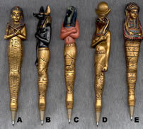 Egyptian Pens, $24