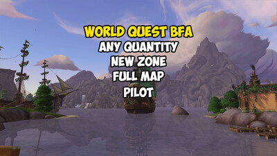 World Quest BFA (Full Map)