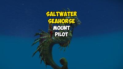 Saltwater Seahorse