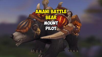 Amani Battle Bear