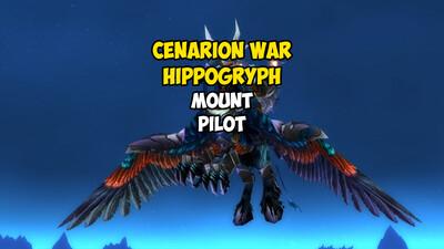 Cenarion War Hippogryph