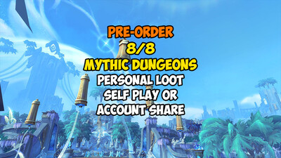 [Pre-order] 8/8 Mythic Dungeons PL