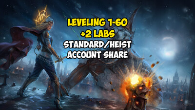 Leveling 1-60 + 2 LABS
