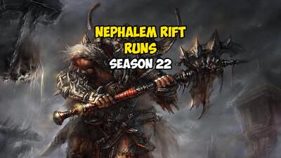 10 Nephalem Rift Runs US