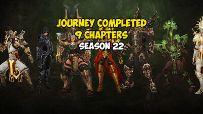 Journey Completed 9 Chapters Season 22 US