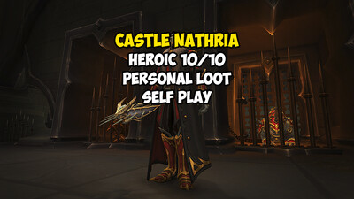 Castle Nathria 10/10 Heroic Personal Loot