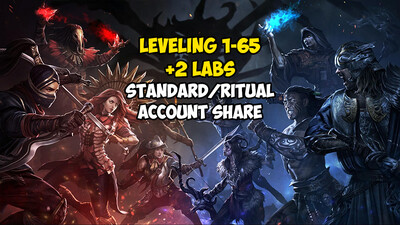 Leveling 1-65 + 2 LABS