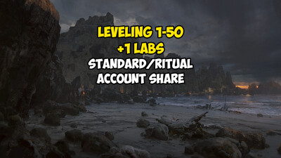 Leveling 1-50 + 1 LABS