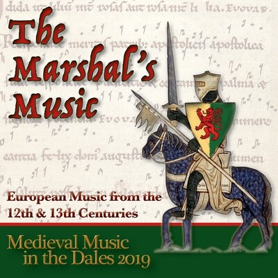 Medieval Music in the Dales 2019 CD - The Marshal's Music