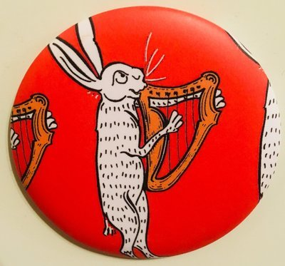 Medieval Music in the Dales Fridge Magnet
