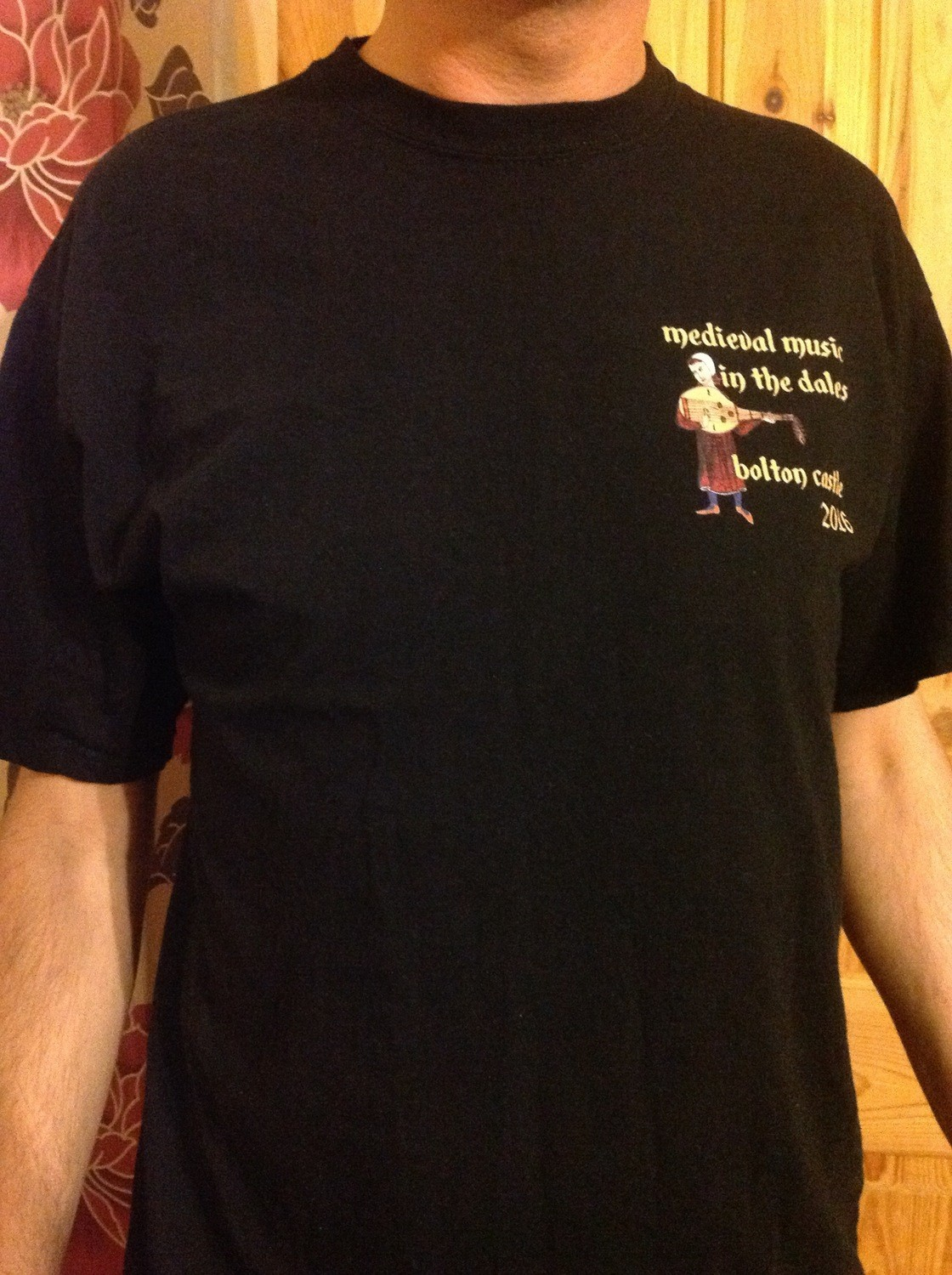 Medieval Music in the Dales T-Shirt 2016