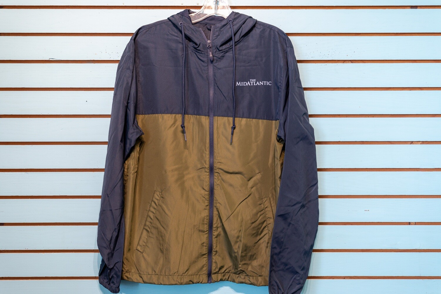 MidAtlantic Mens Wind Breaker - Olive Green