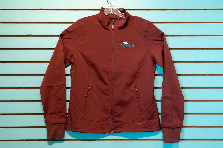 MidAtlantic Ladies Soft Shell Jacket Maroon