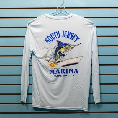 South Jersey Marina Cigar Marlin Long Sleeve Performance