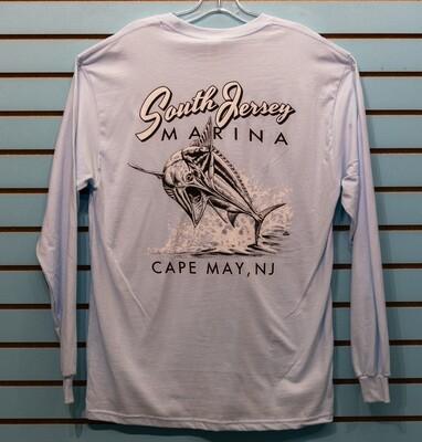 South Jersey Marina Marlin Long Sleeve Tee