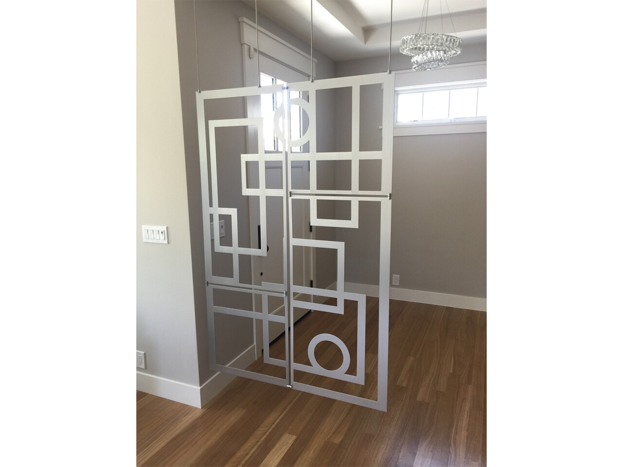 """Custom designed room divider Example #4"""