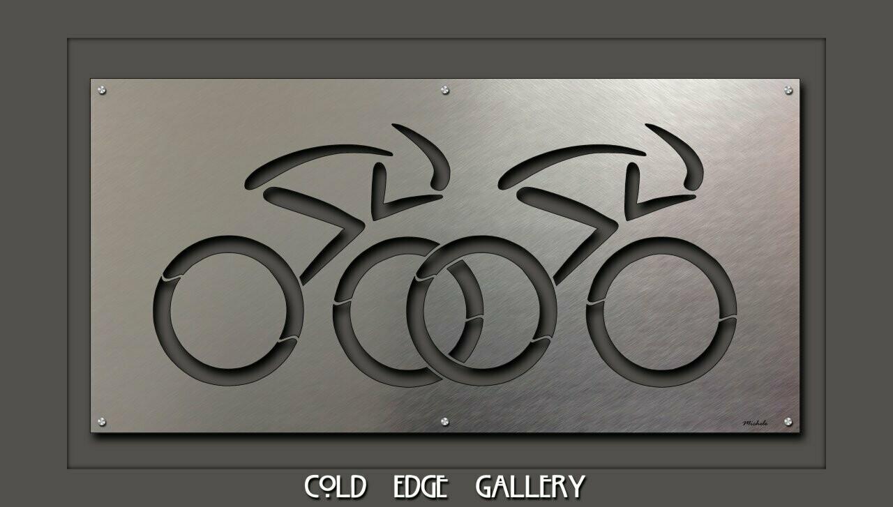 """Twin Bike Riders"""