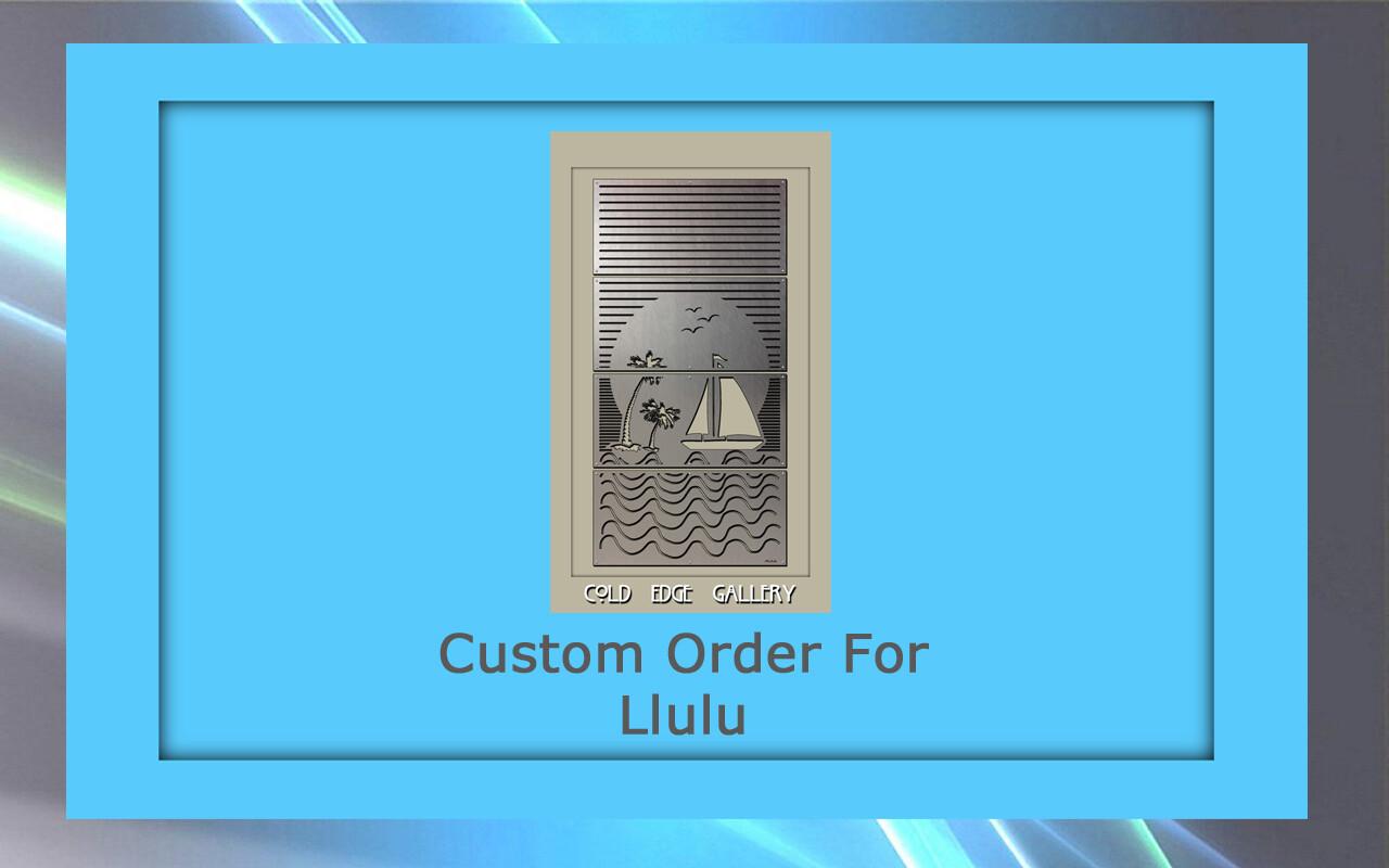 Custom order for Llulu S.