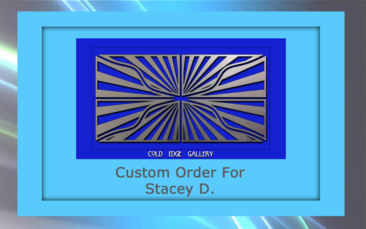 Custom order for Stacey D.
