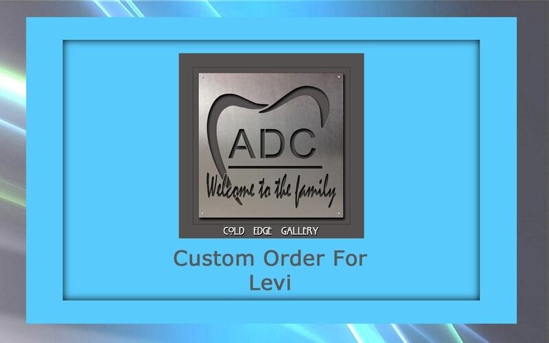 Custom order for Levi R.