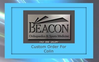 Custom order for Colin C.