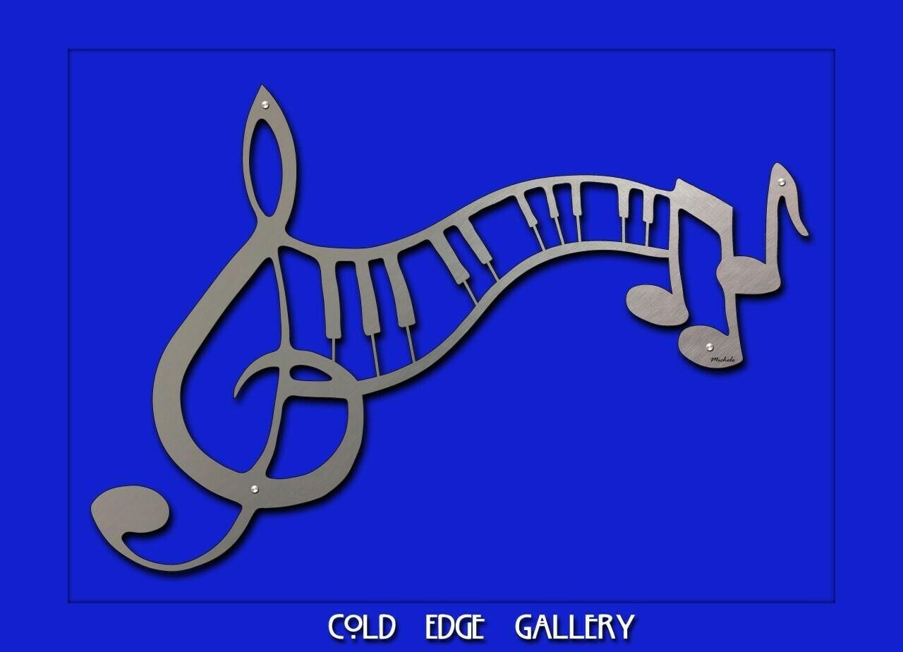 """Abstract Sheet Music"""
