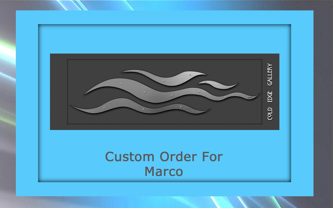 Custom order for Marco V.