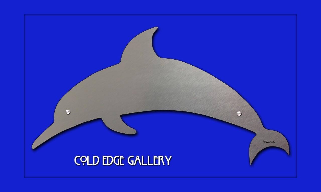"""Dolphin - swimming"""