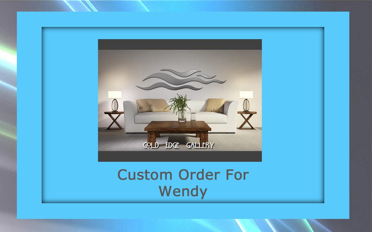 Custom order for Wendy H.