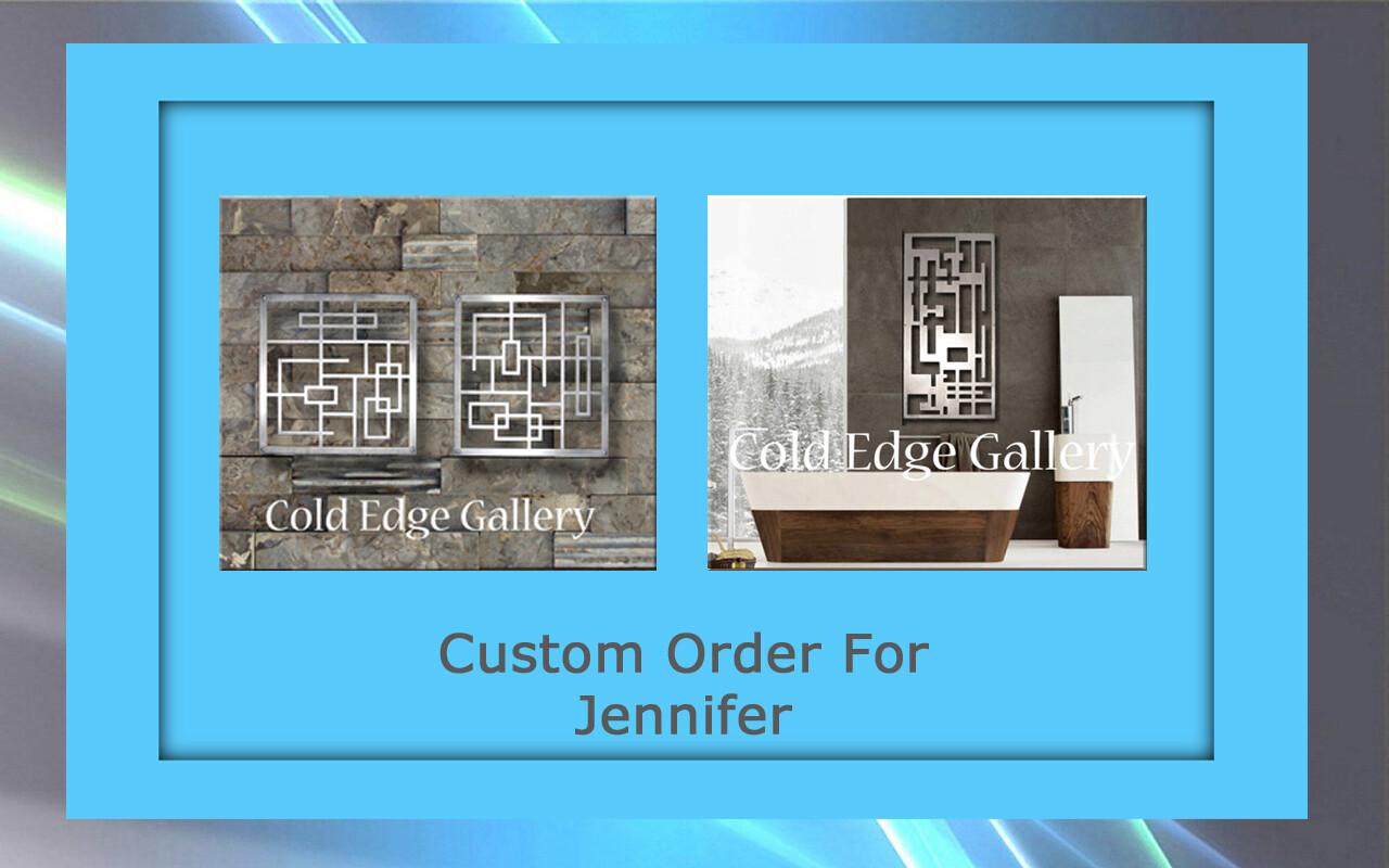 Custom order for Jennifer F.
