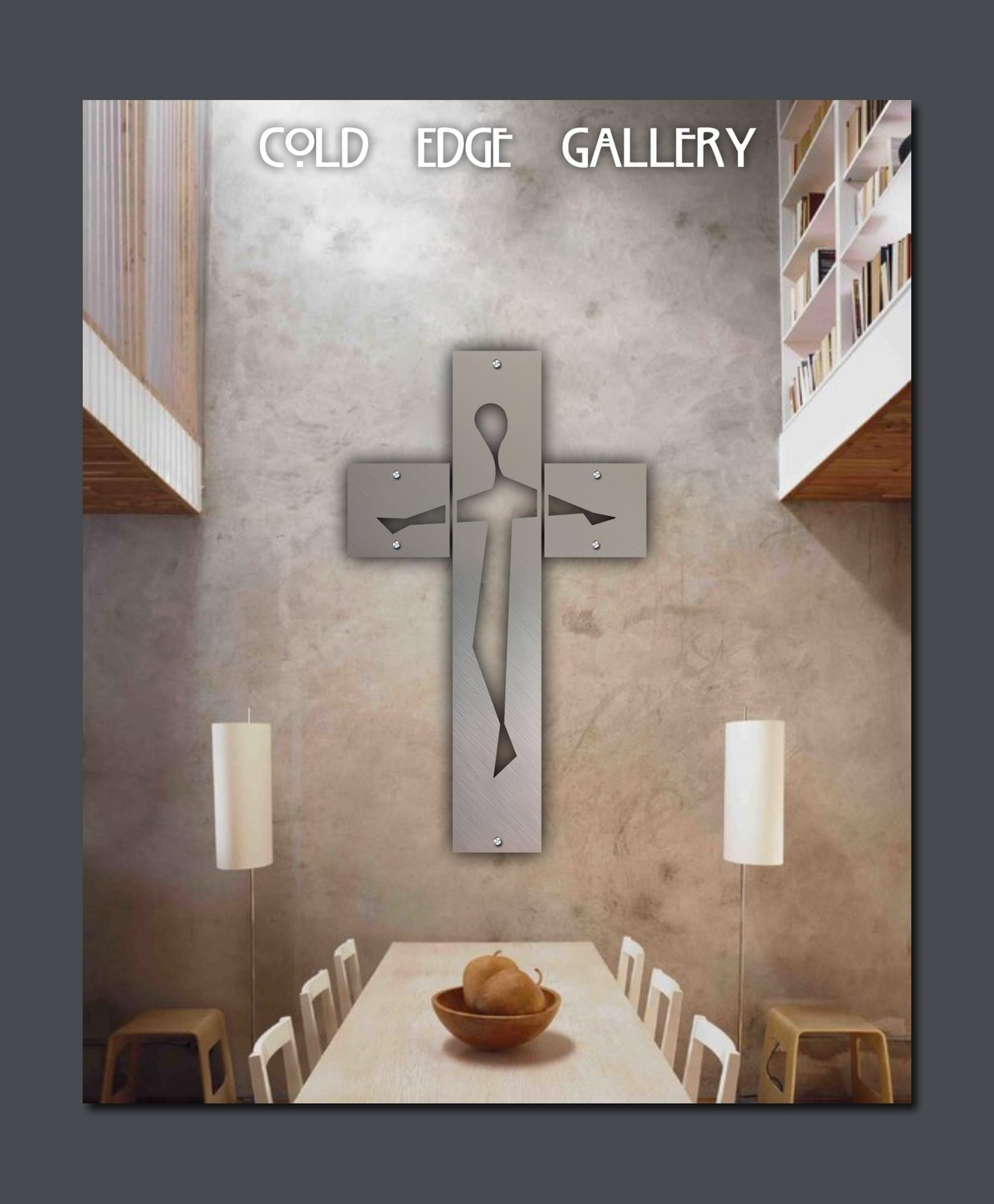 """Contemporary Crucifix"" large"