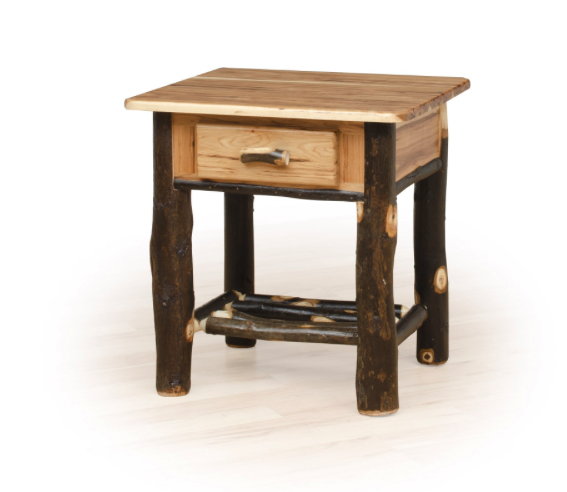 Hickory One Drawer Night Stand