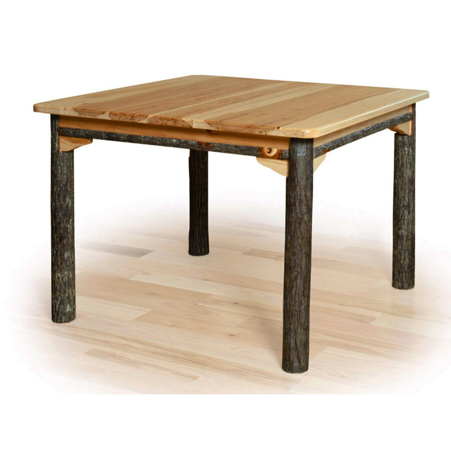 Hickory 4 Leg Solid Table