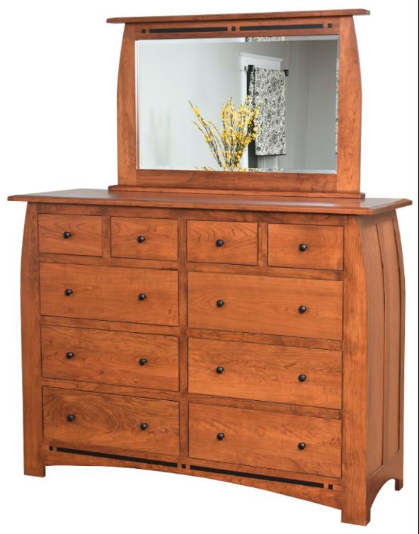 Hayworth 10 Drawer Dresser w/ Mirror