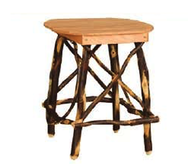 4 Leg Oval or Square End Table