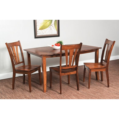 "Hatfield Essentials Table with 1-18"" leaves"