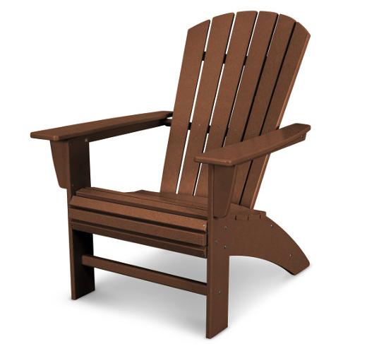 Nautical Curve Back Adirondack Chair