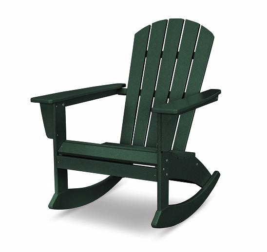 Nautical Adirondack Rocking Chair