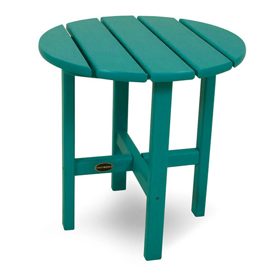 """Round 18"""" Side Table"""