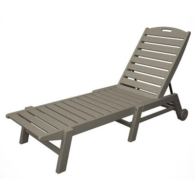 Nautical Wheeled Chaise- Stackable