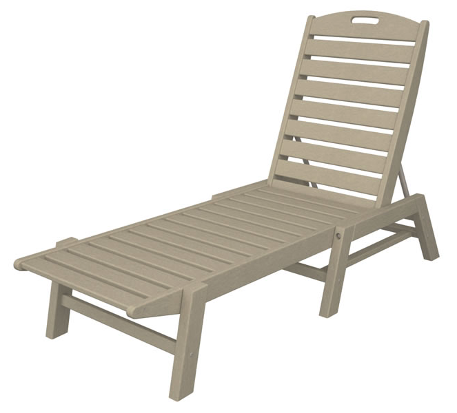 Nautical Chaise - Stackable